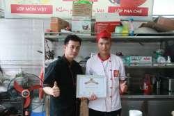 Học viên Nông Văn Hoan khóa học lẩu nướng mở quán tại Học Món Việt