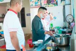 Nguyễn Thế Nam khóa học lẩu nướng mở quán tại Học Món Việt